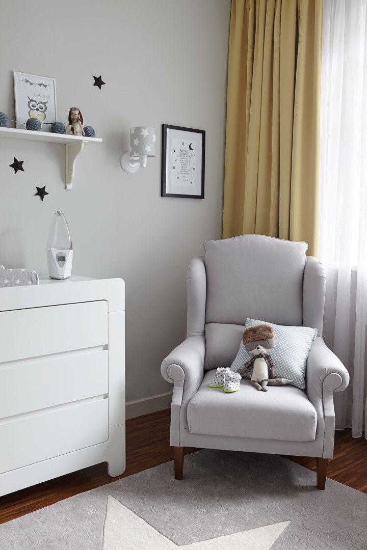 Kinderzimmer Mal Ganz Anders #sessel #ohrensessel #wandschablone ©Dekoria