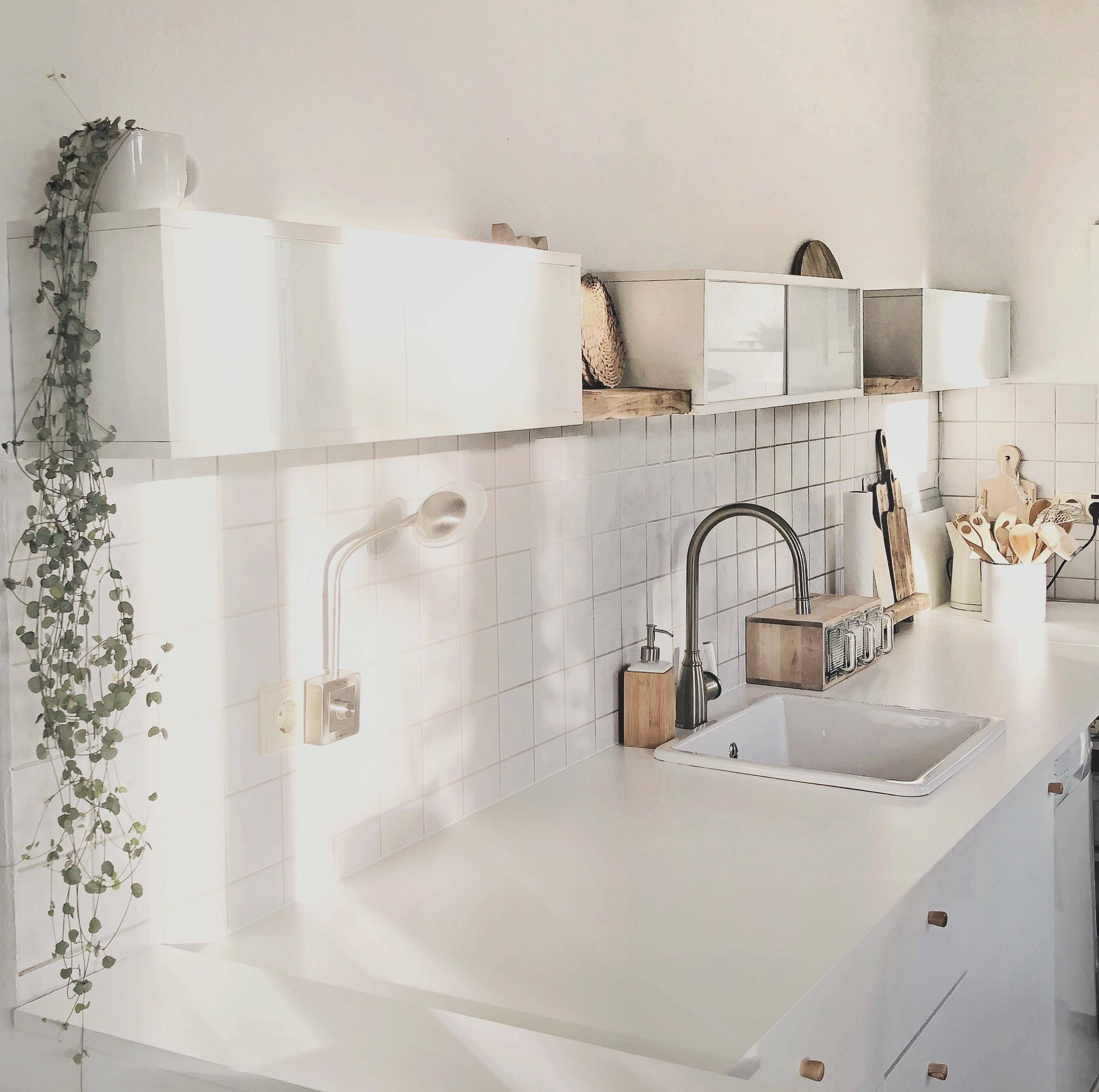 #kitchen #kitchenlove # scandihome # kitchendesign #whiteandwood