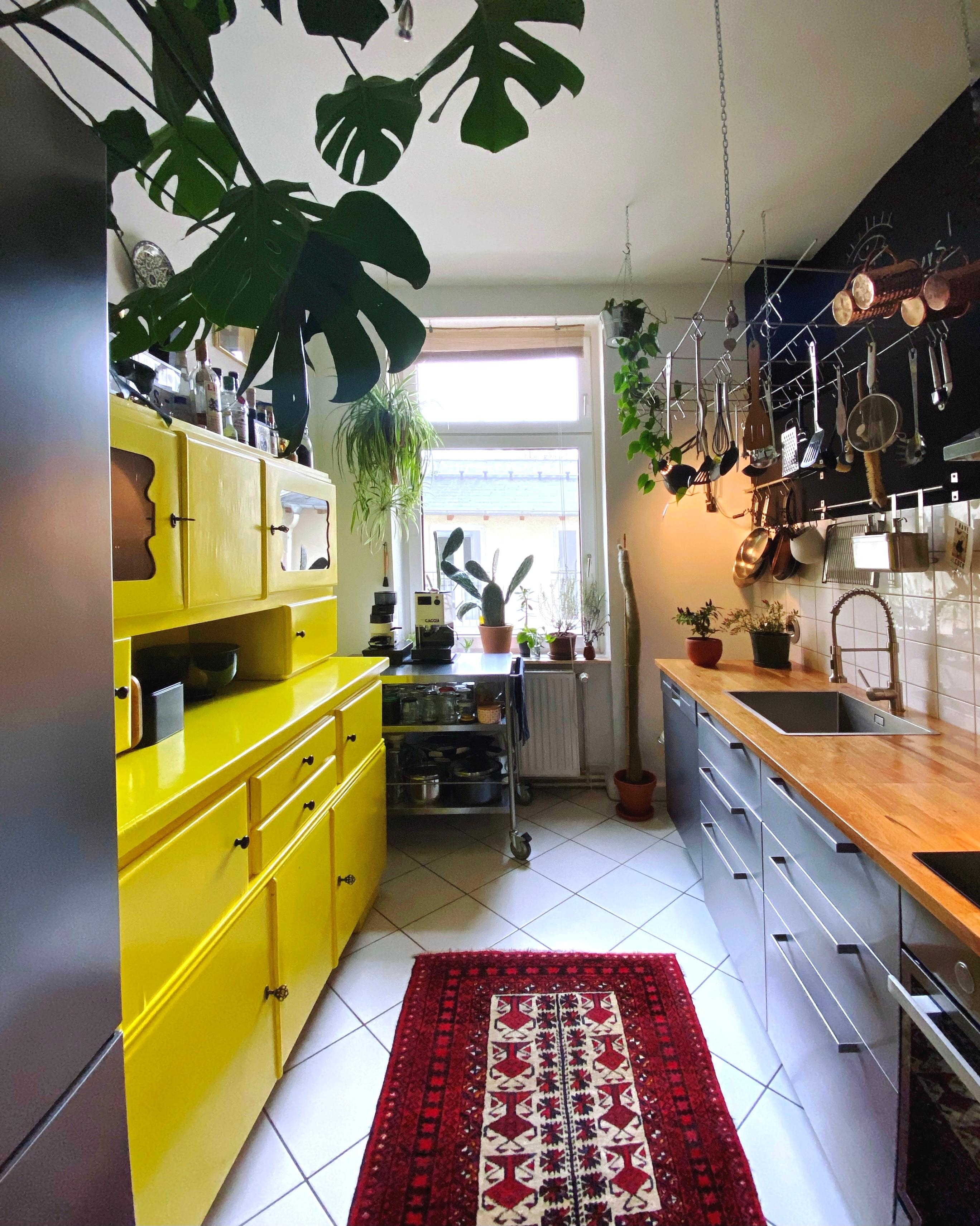 #kitchen #küche #plants #urbanjungle