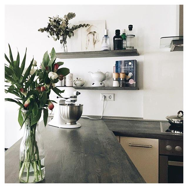 #kitchen #küche #whitehome #placetobe #myhome