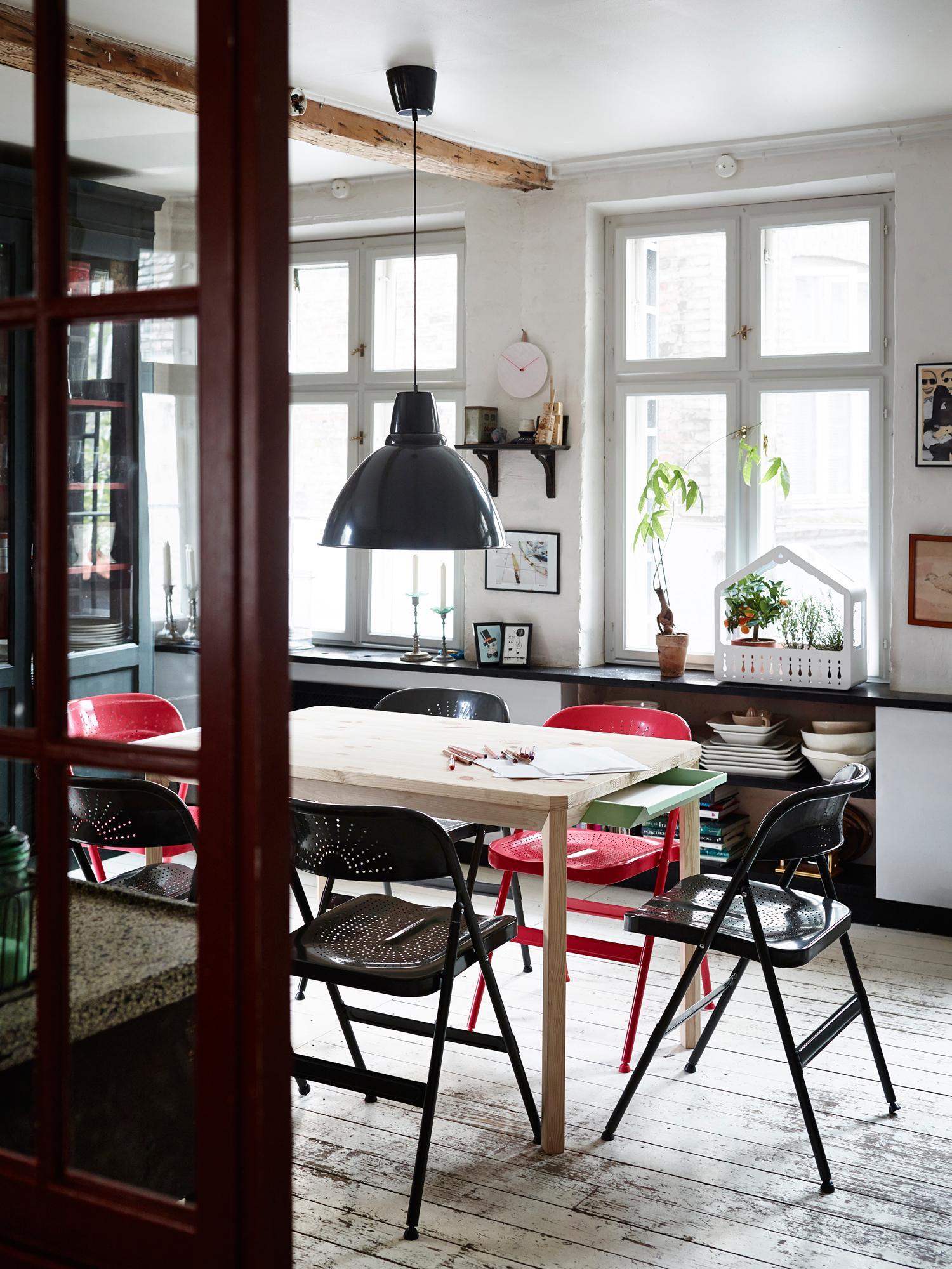 Schön Klappstühle Fürs Esszimmer #ikea #klappstuhl #esszimmerstuhl ©Inter IKEA  Systems B.V.