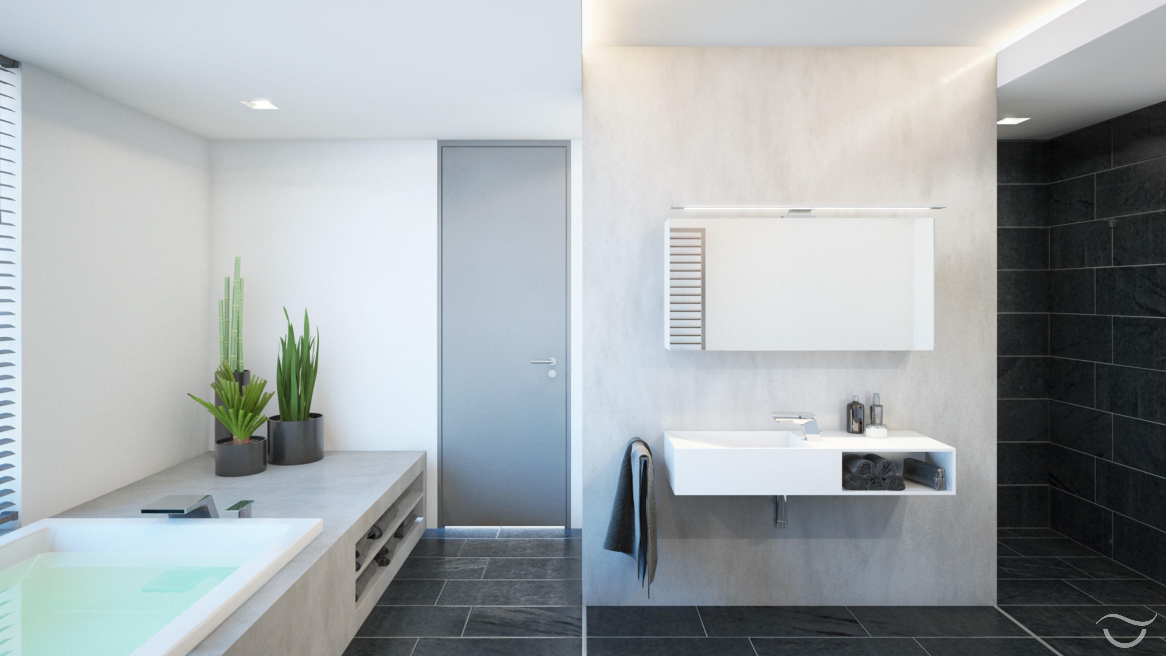 Steinbadezimmerwand bilder ideen couchstyle for Badezimmer im englischen design