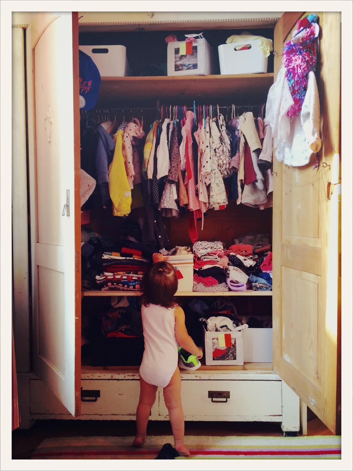 Kleiderschrank Vintage Kinderzimmer Babygirl Ni