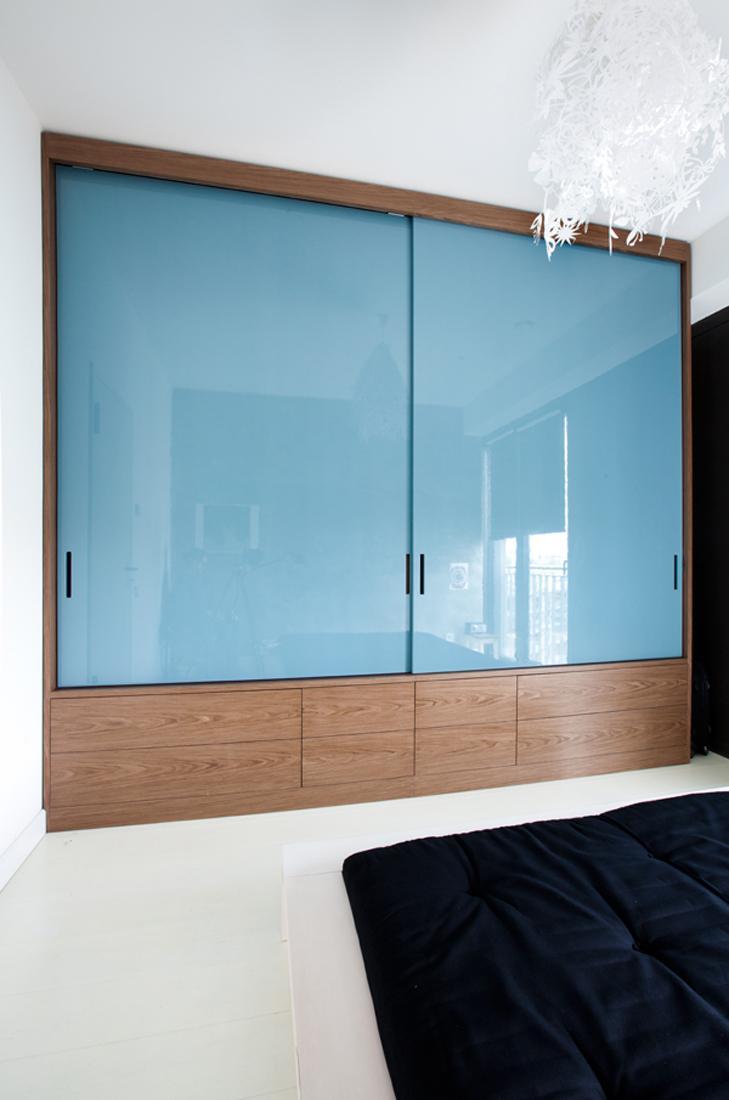 Aufbewahrungssysteme Kleiderschrank faltschiebetür bilder ideen couchstyle