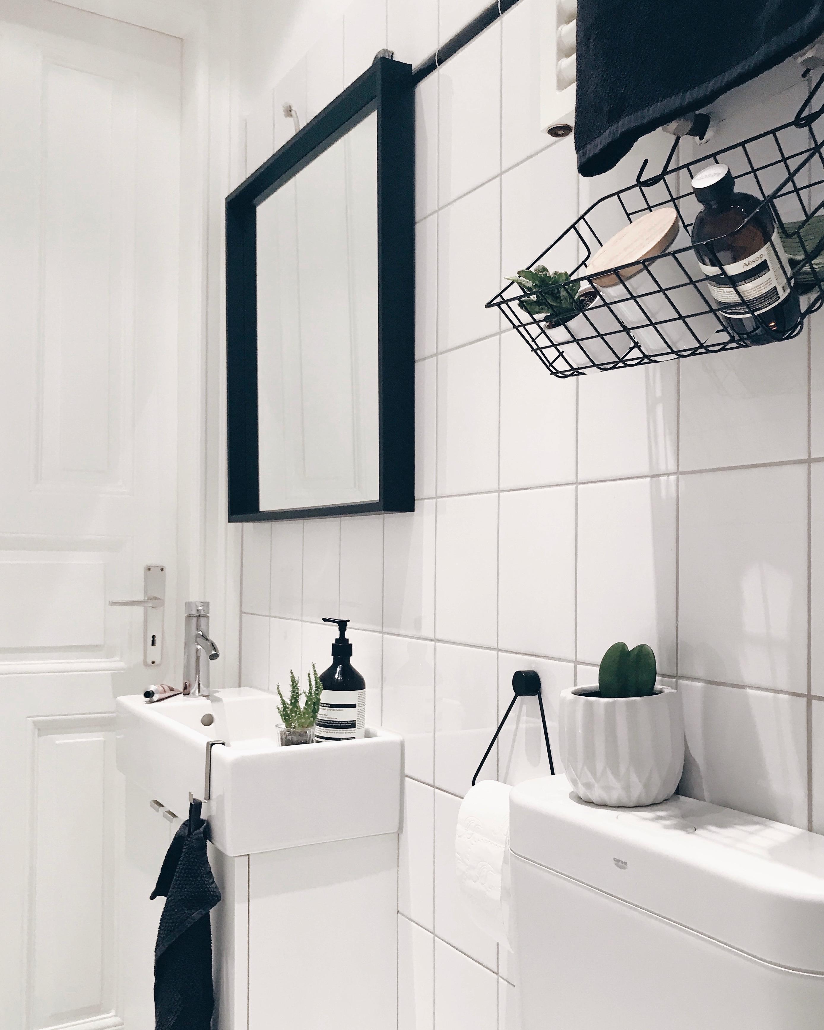 badezimmer altbau, klein aber oho! #kleinesbad #badezimmer #altbau #bl., Badezimmer