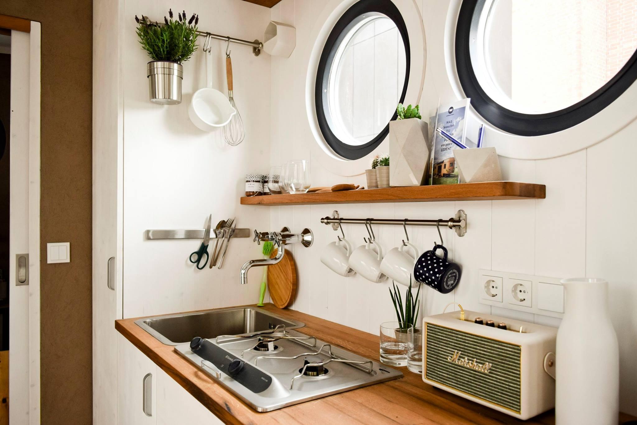 Kleine, feine Küche #küche ©Wohnwagon • COUCHstyle