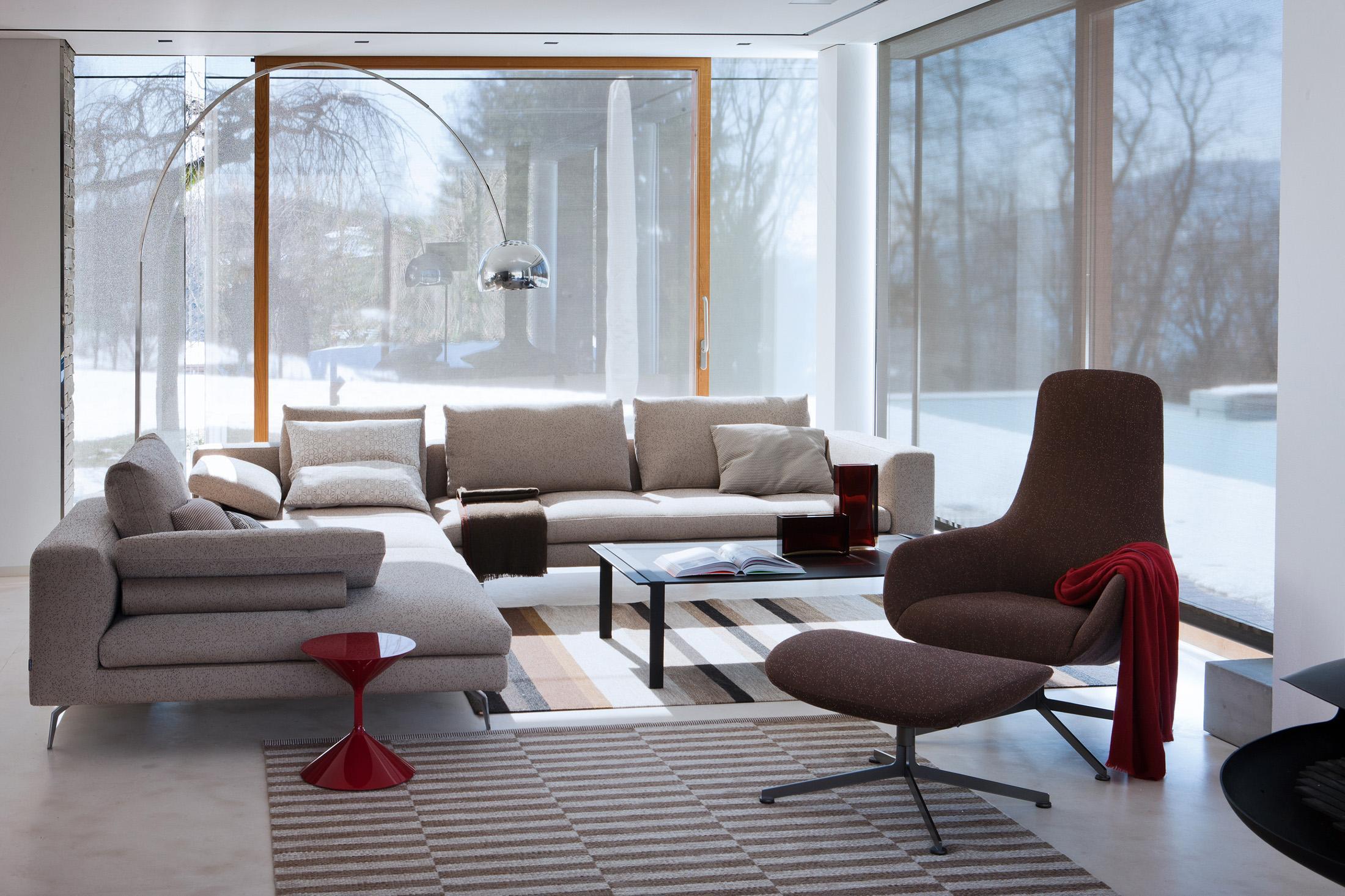 Grauer Bodenbelag Bilder Ideen Couch