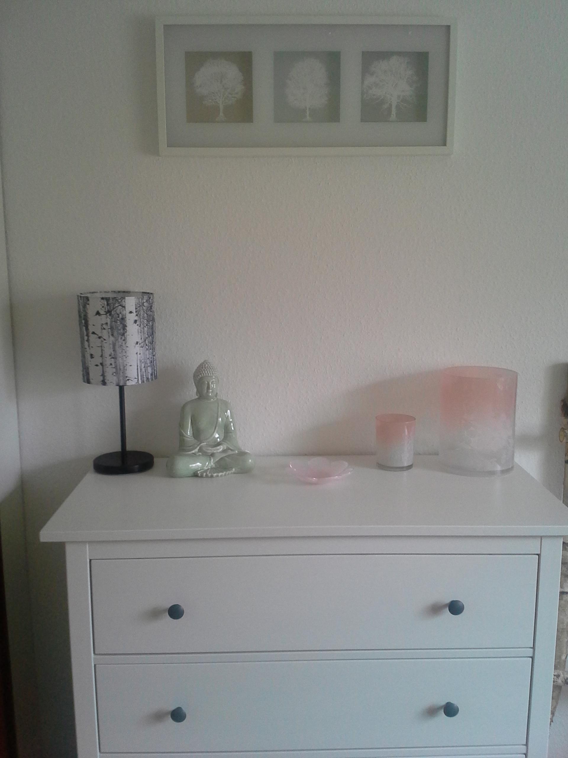 kommode #Schlafzimmer #buddha #weiß #rose #blumen #...