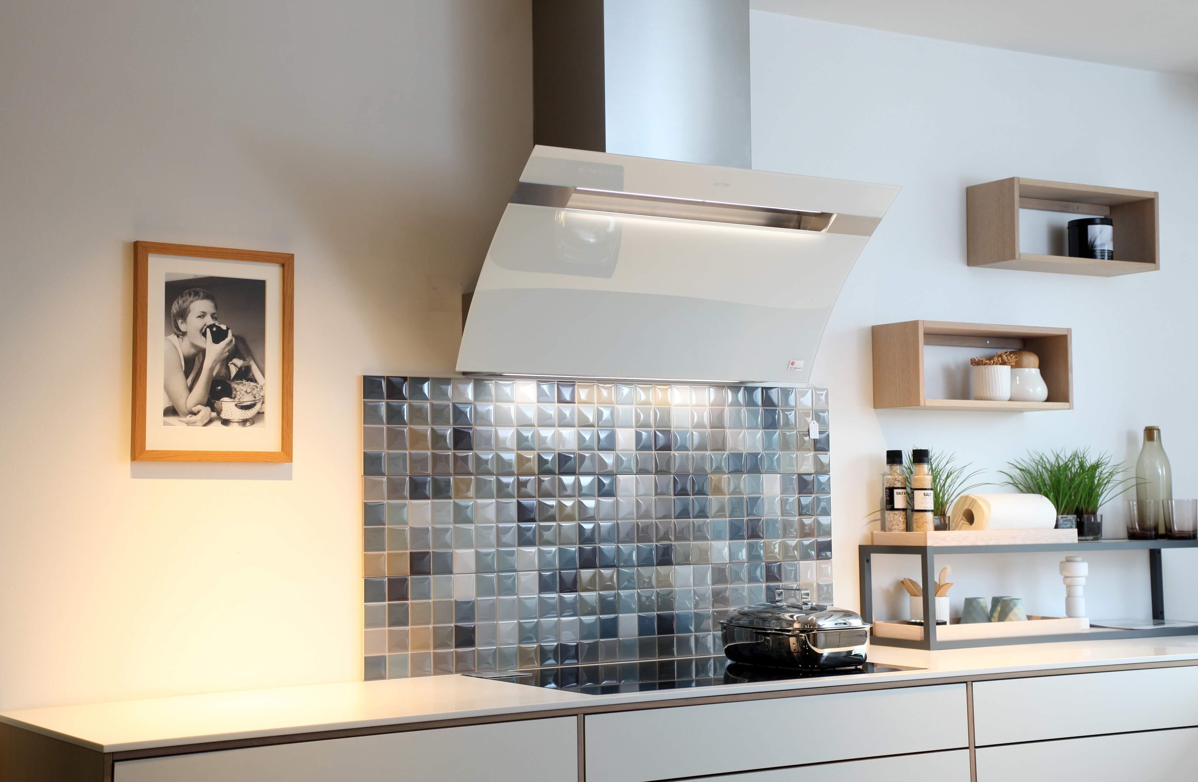Kopffreihaube glassline küche dunstabzugshaube kü
