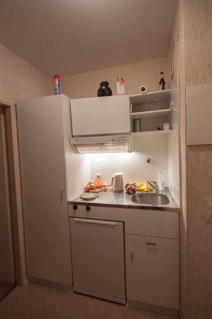 Küche   Vorher #küche #ferienhaus #pantryküche #ferienwohnung #miniküche  ©IMMOTION Home