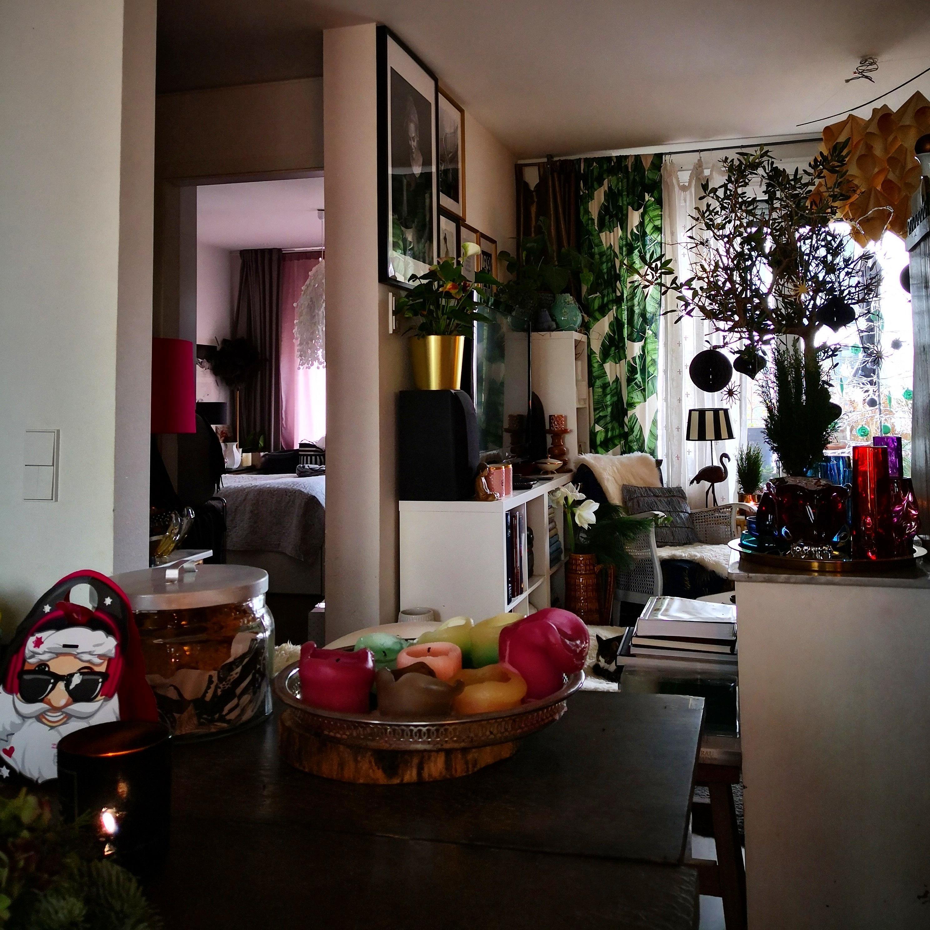 Küche - Wohnzimmer - Schlafzimmer #home #vintagestyl...
