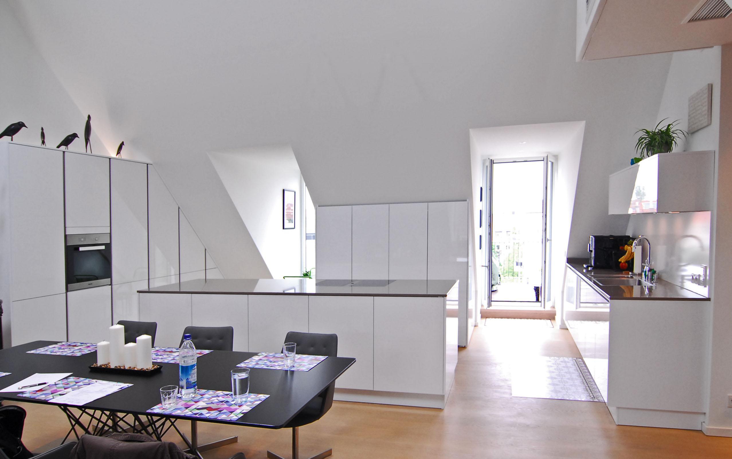 Küche mit Dachschräge • Bilder & Ideen • COUCH