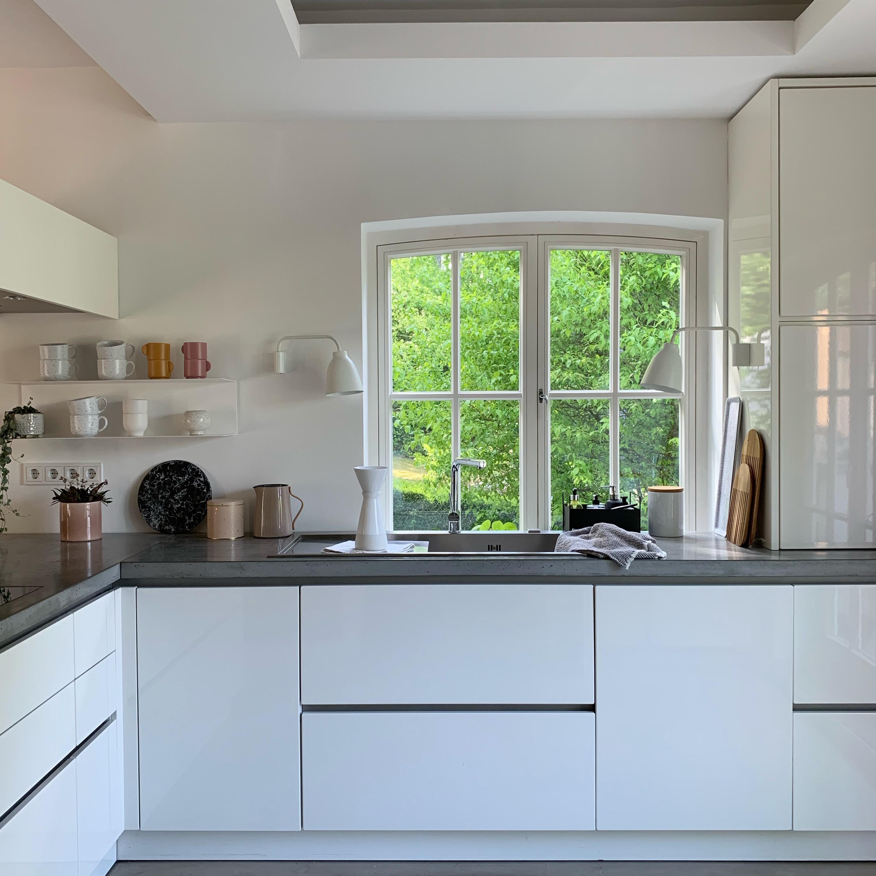 küche #fenster #ausblick • COUCH