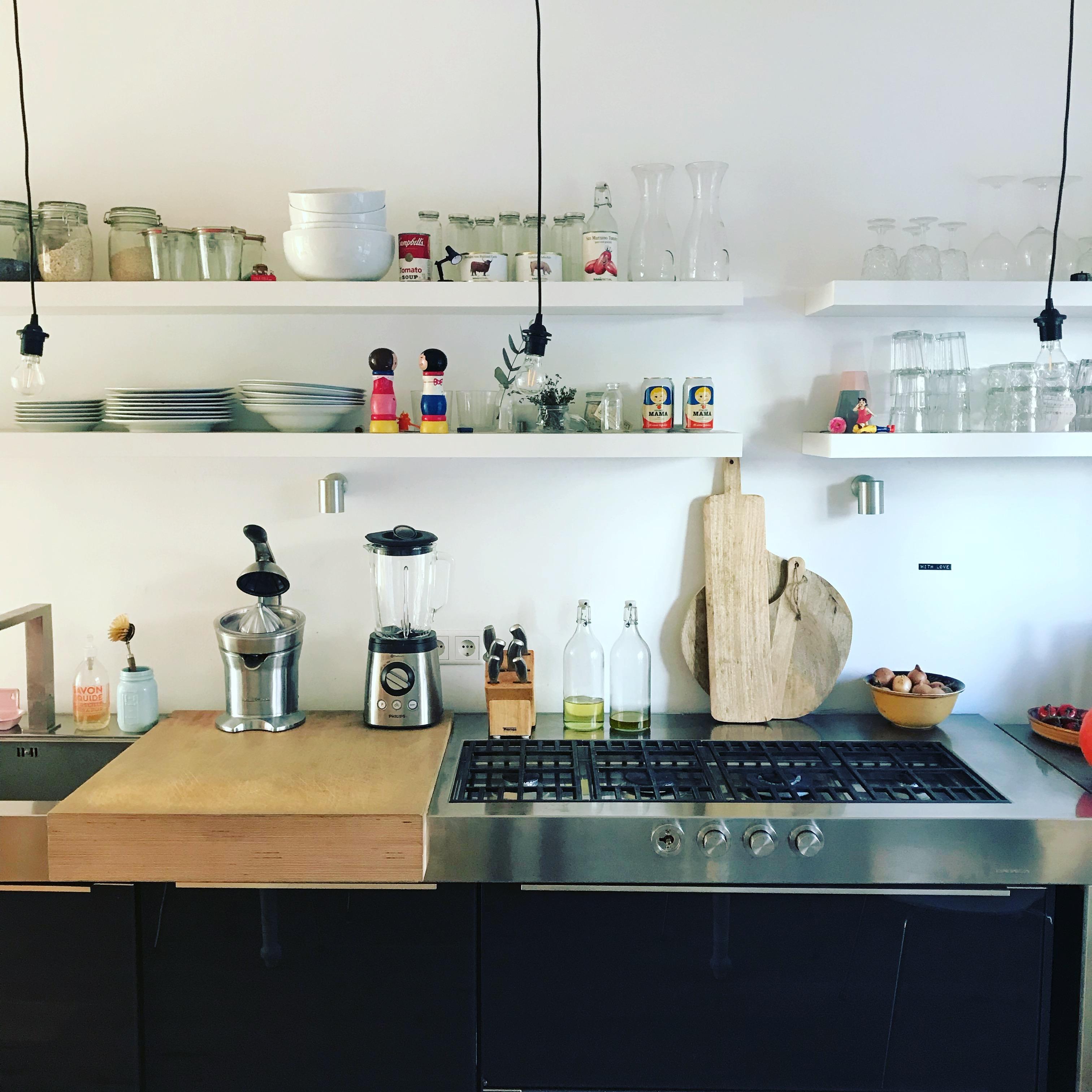 küche #gasherd #inmykitchen • COUCHstyle