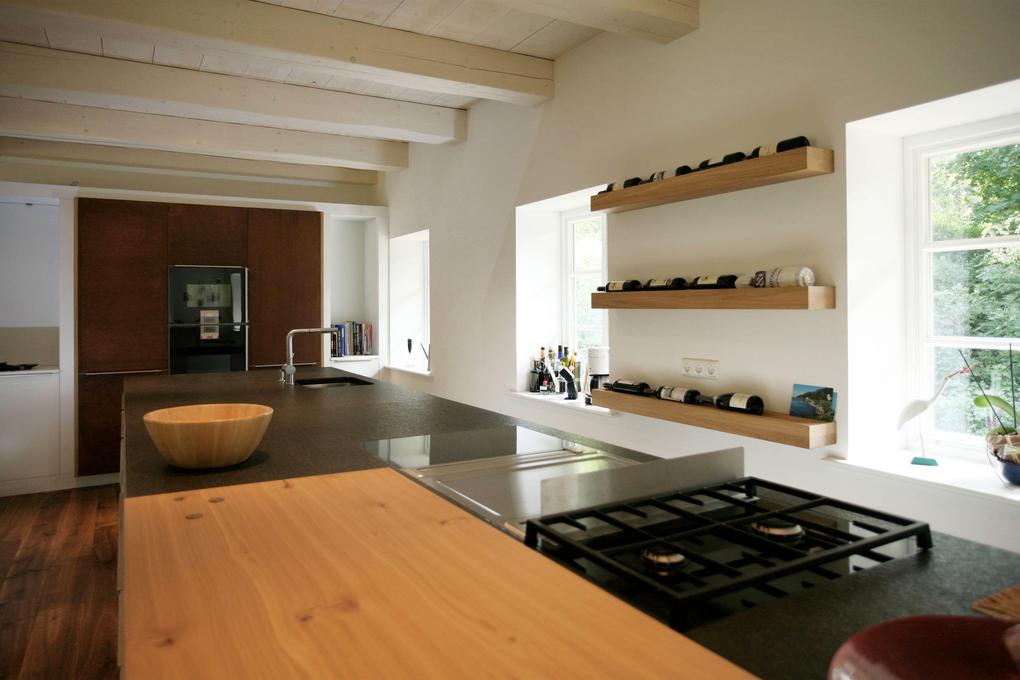 die besten 25 offene k chenregale ideen auf pinterest. Black Bedroom Furniture Sets. Home Design Ideas