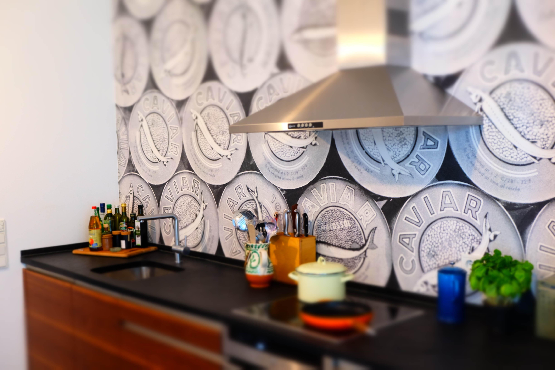 Küche in Köln mit neuer Tapete! #Küche... • COUCHstyle