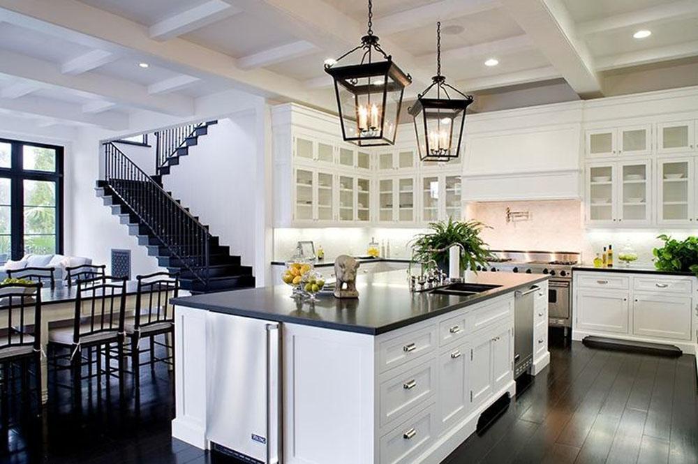 Küche #küche #pendelleuchte #kücheninsel #küchenbloc...