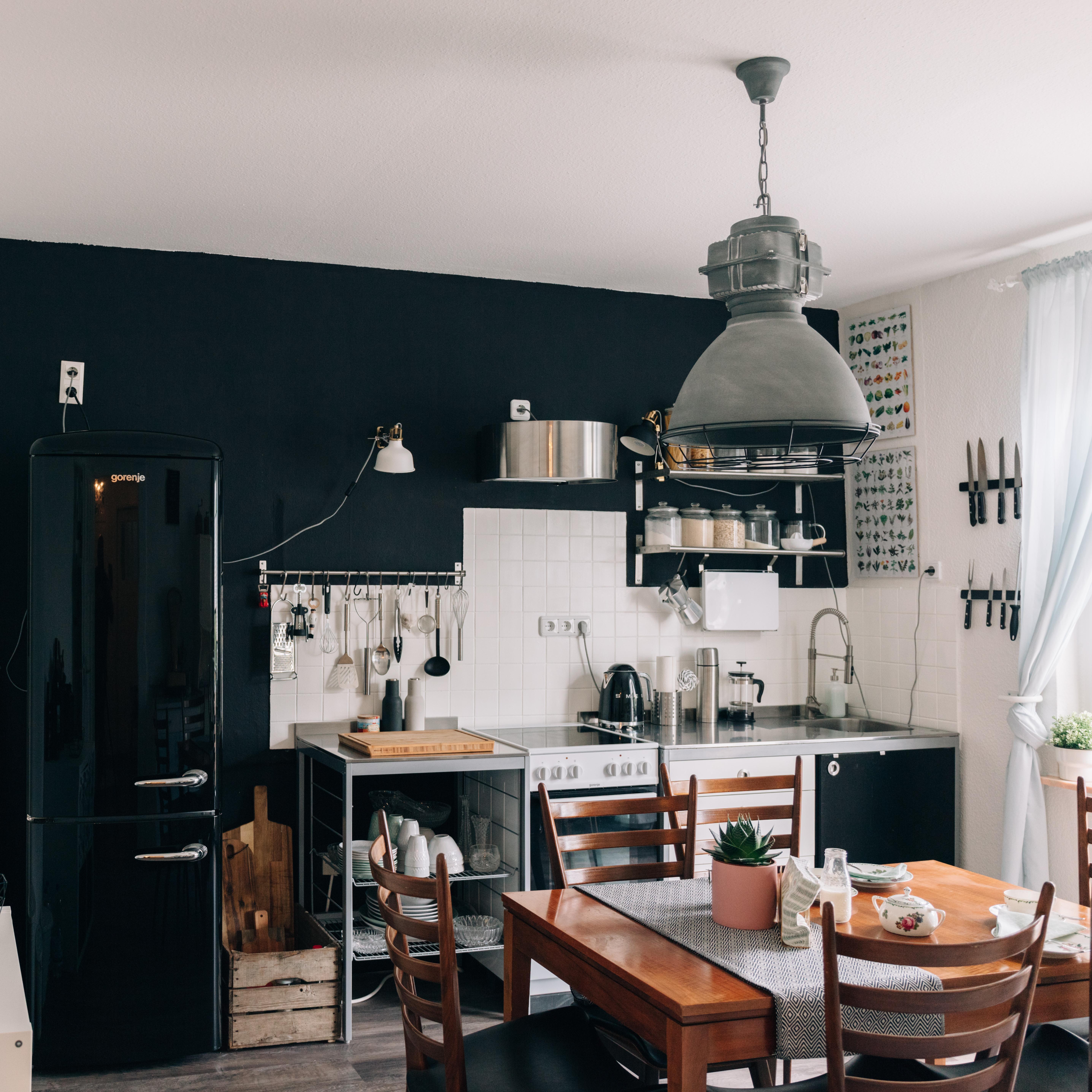 Küche #retro #vintage #industrial #stilmix #altbau ...