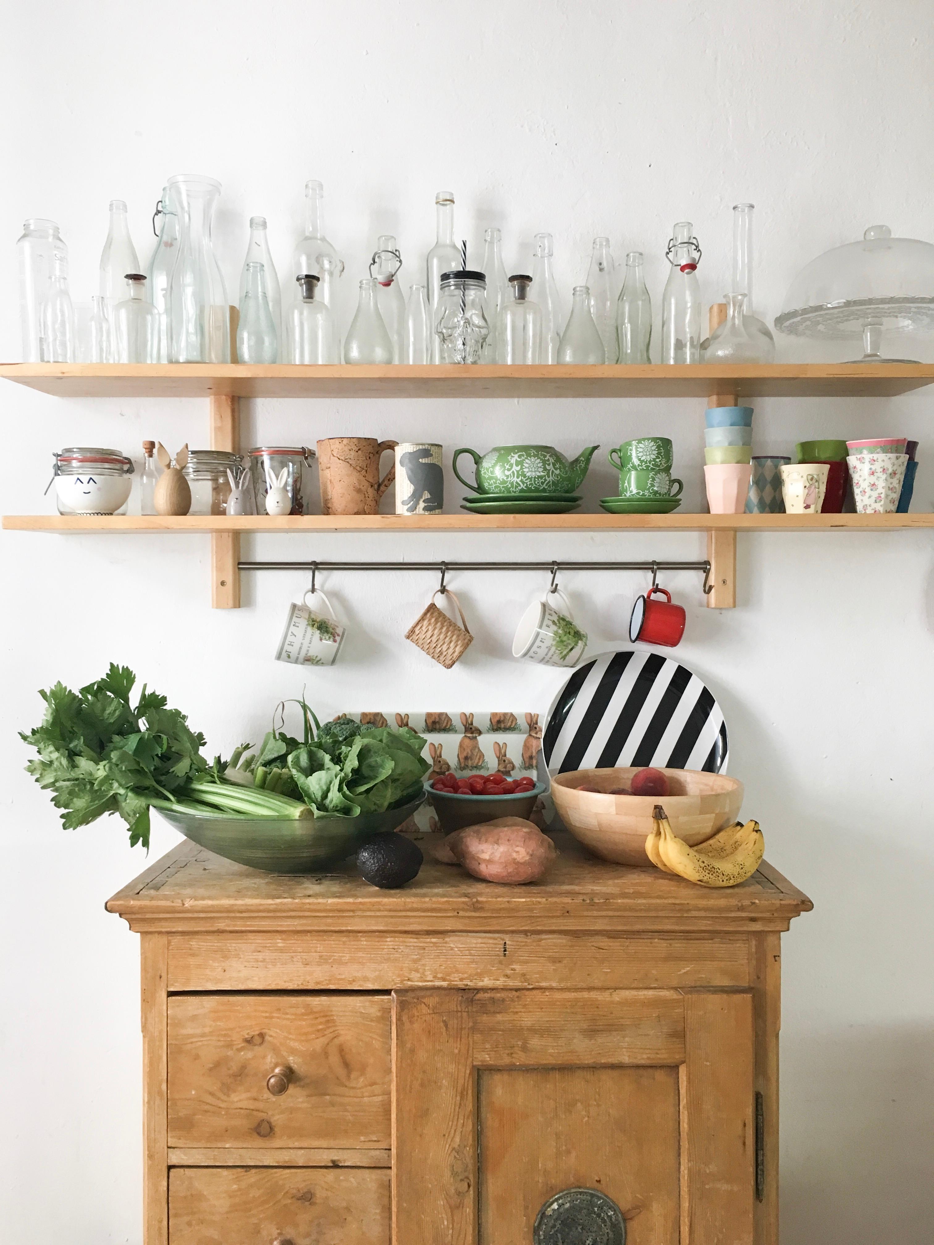 küche #vintage Wir leben sehr #nachhaltig, gut 90% ...