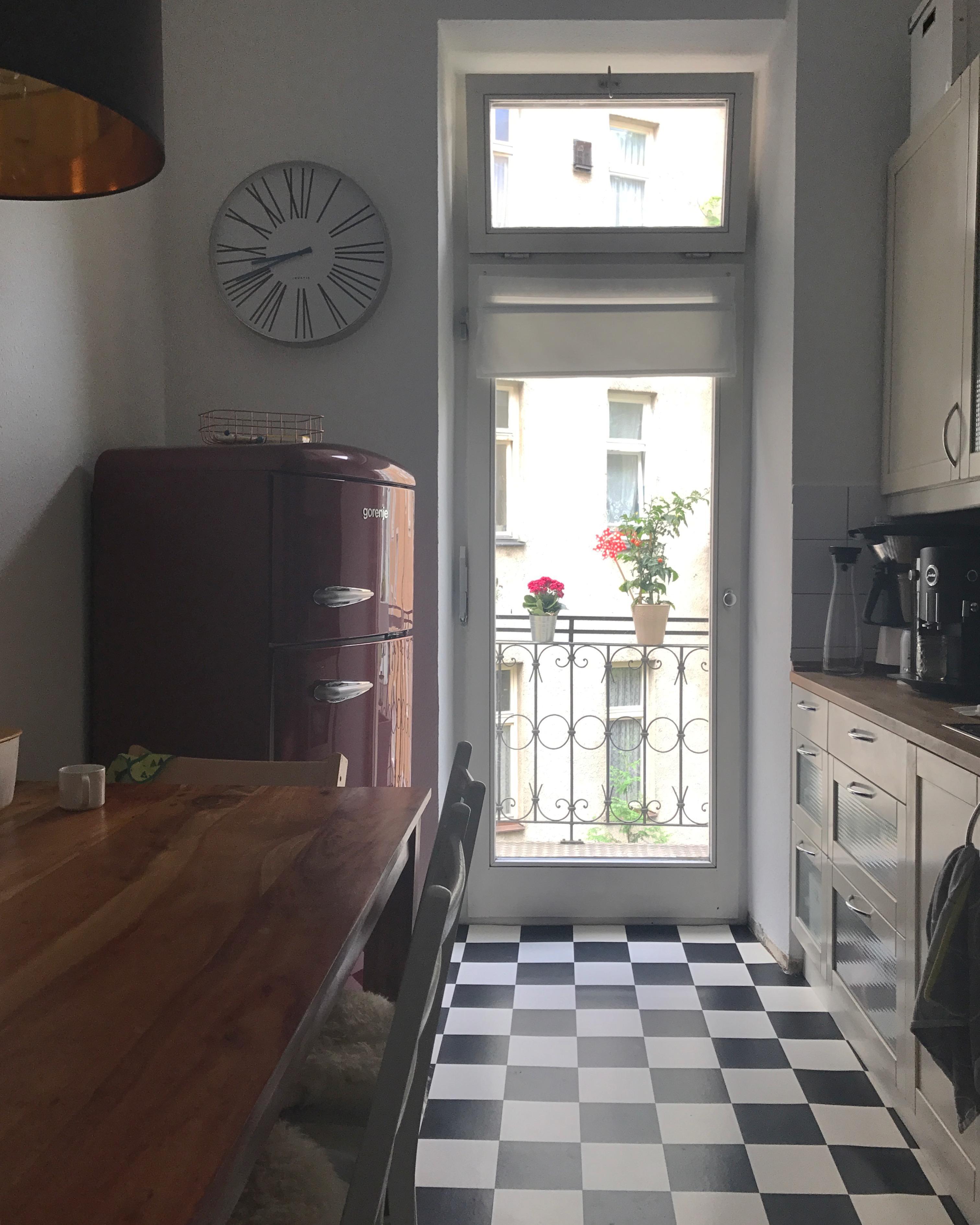 k cheneinblick k che kitchen schachbrett diy a. Black Bedroom Furniture Sets. Home Design Ideas