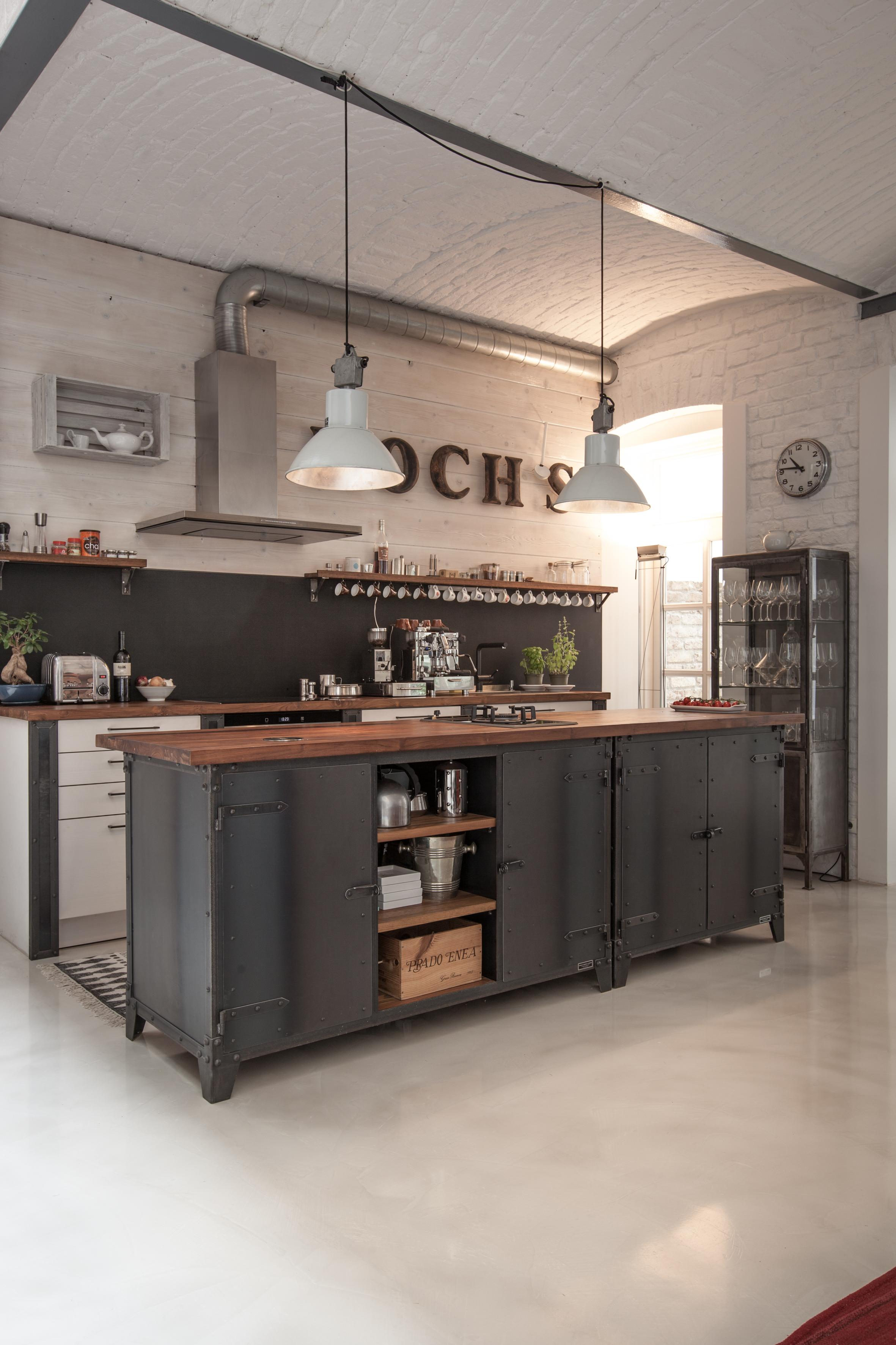 Hölzerne Kücheninsel • Bilder & Ideen • COUCH