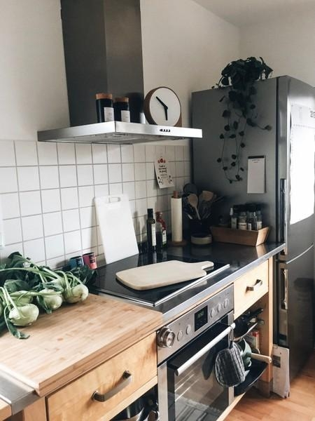 Küchenliebe. #kitchen #küche #ikeavärde #ikea #green #industrial #urban #home #inspiration #interior #cooking #healthy