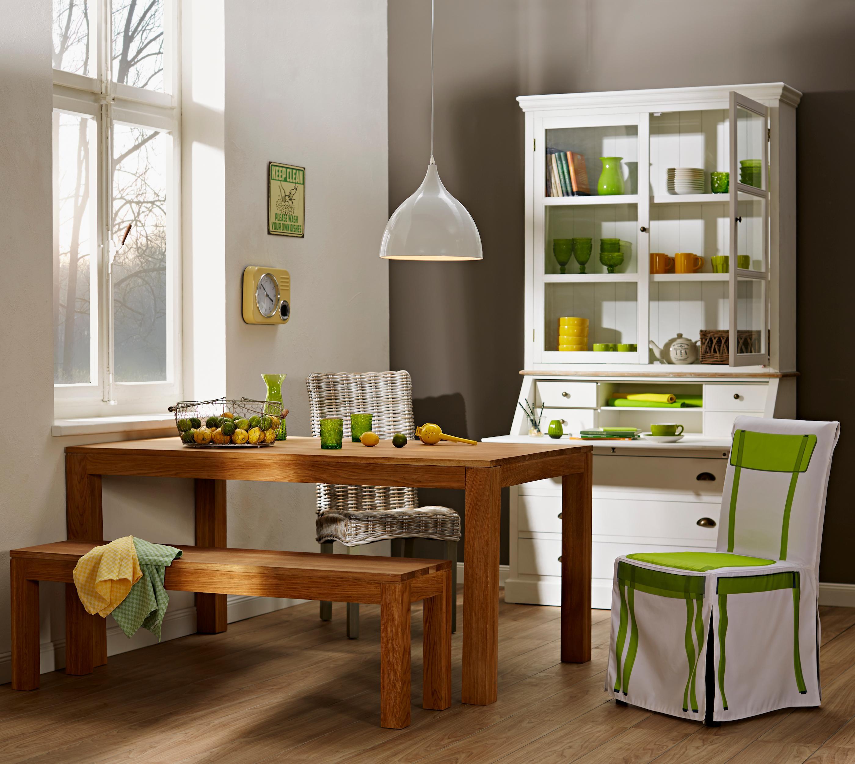 Küchenstyling BUTLERS Set Design By Rasa En Détail #küche #wandfarbe  #esstisch #holzbank