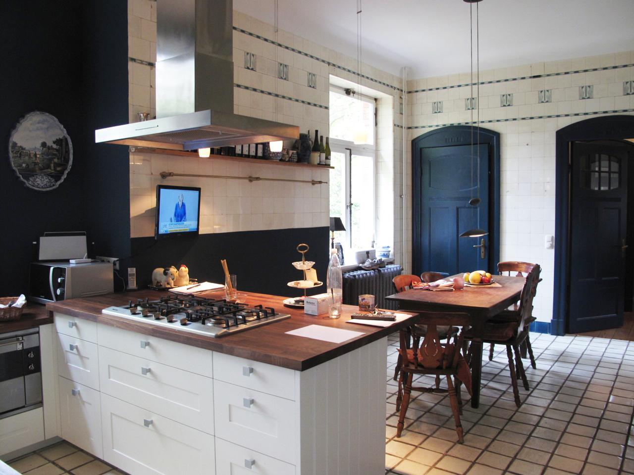 Weißblaue Küche • Bilder & Ideen • COUCHstyle