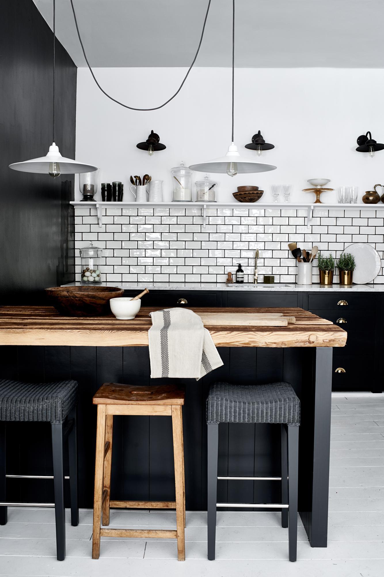 küchentresen aus holz #küche #hocker #pendelleuchte ... ? couchstyle - Hocker Für Küche