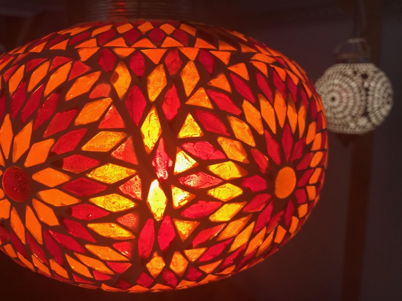 Lampe Hngelampe Mosaik Beleuchtung Orientalisch Schlafzimmerbeleuchtung C