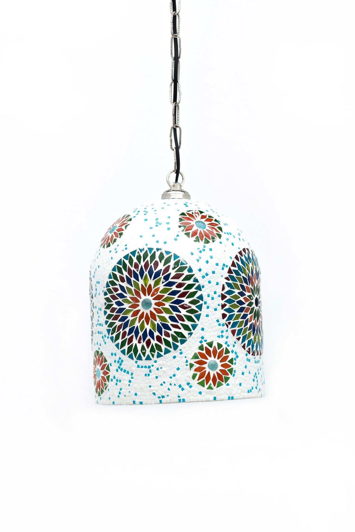 Lampe Hngelampe Mosaiklampe Kochi Beleuchtung Orientalisch CKamalla