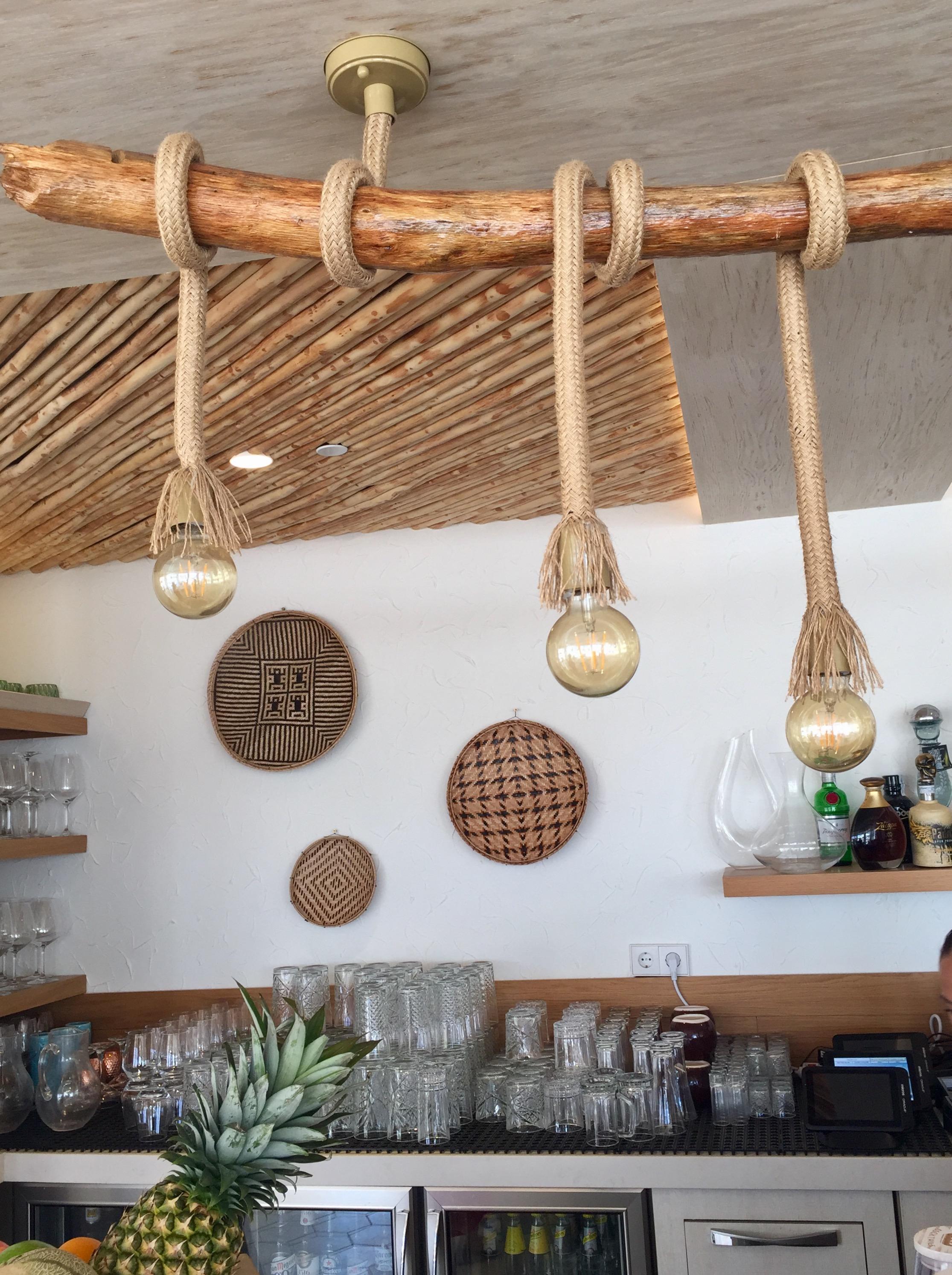 Einfache Dekoration Und Mobel Einrichten Mit Natuerlichen Materialien 2 #18: #lampen #inspo #couchliebt #nobuhotels #ibizabay #natuerlichewohnideen