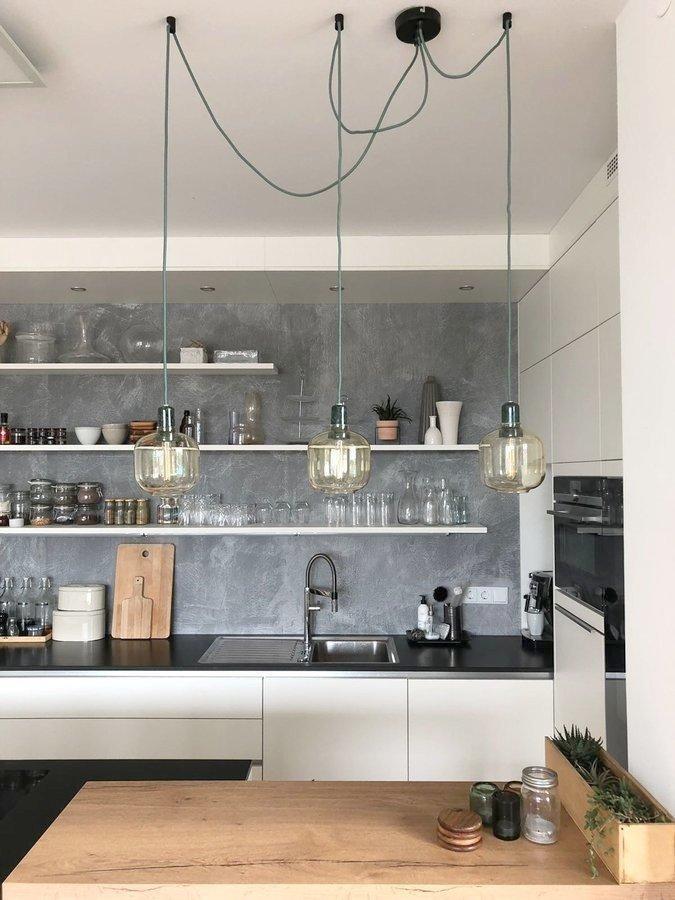lampen #normancopenhagen #glaslampen #küche #vintag...