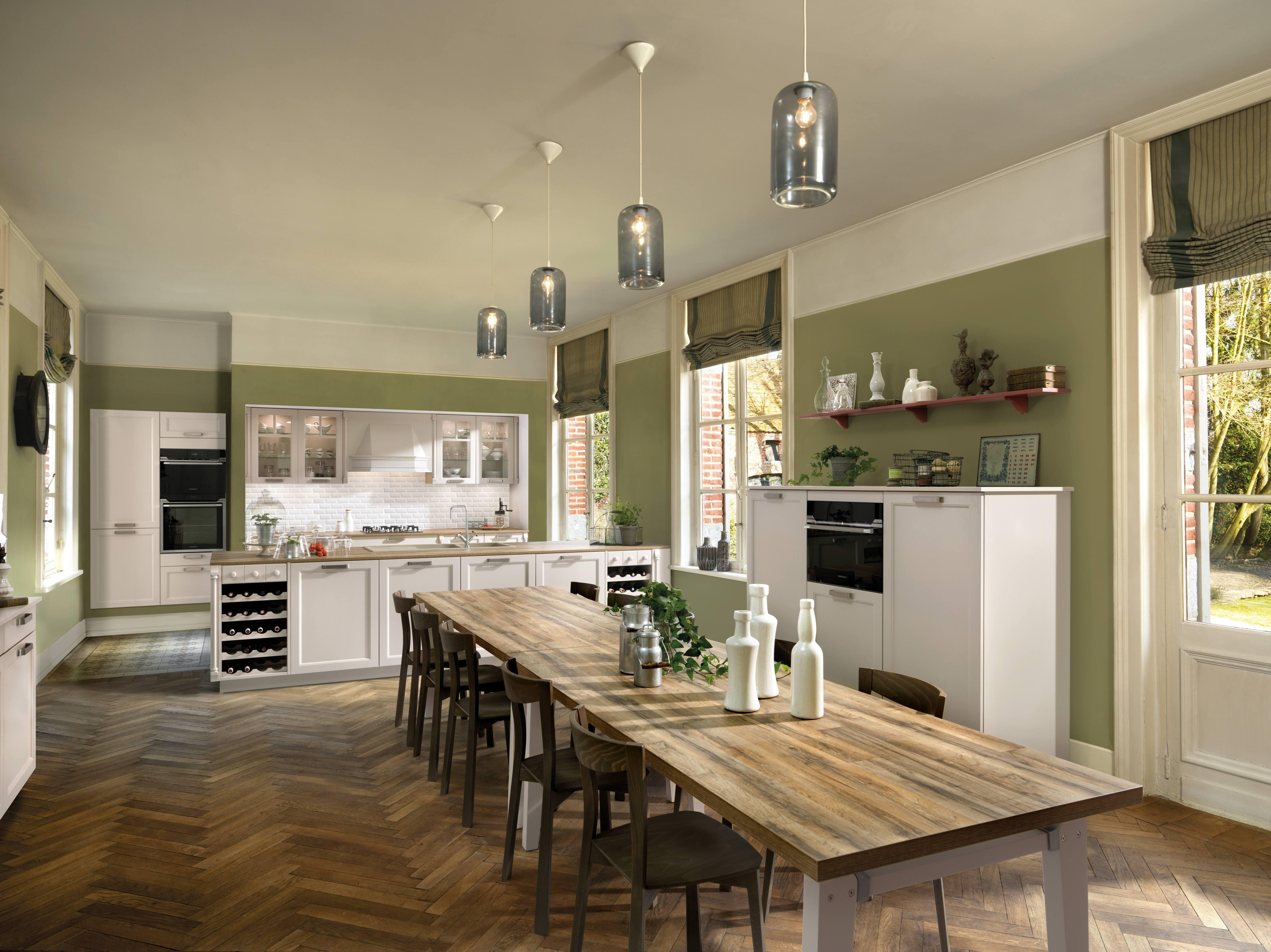 Kleine Landhausküchen küchen im landhausstil bilder ideen couchstyle