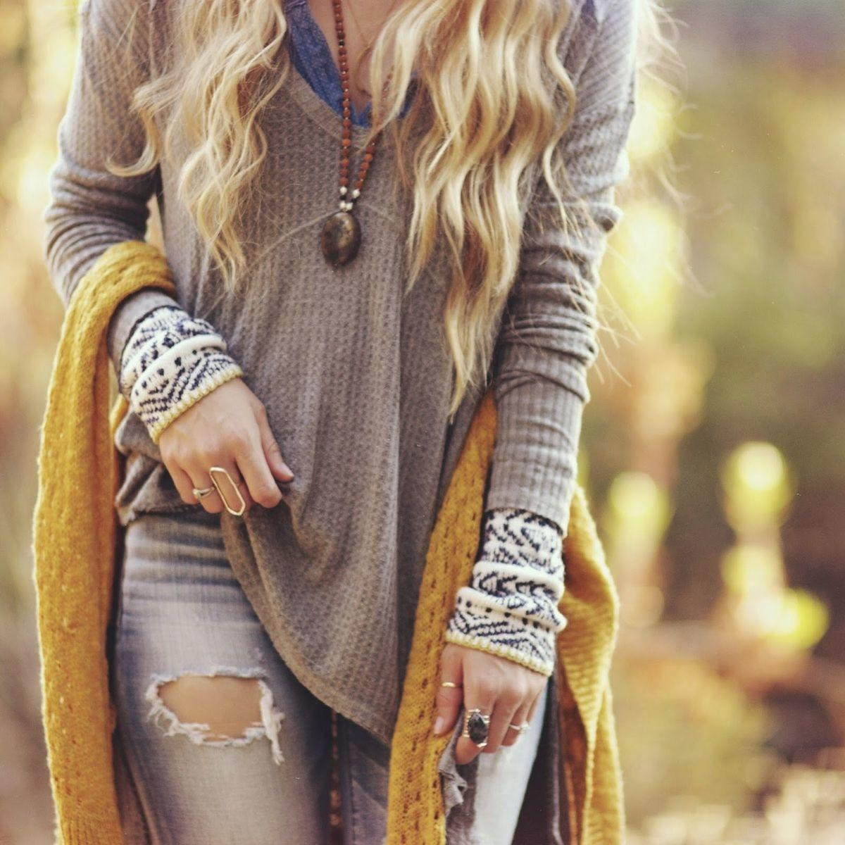 #LetsTwashIt I love cozy bohemian outfits when it is getting cold