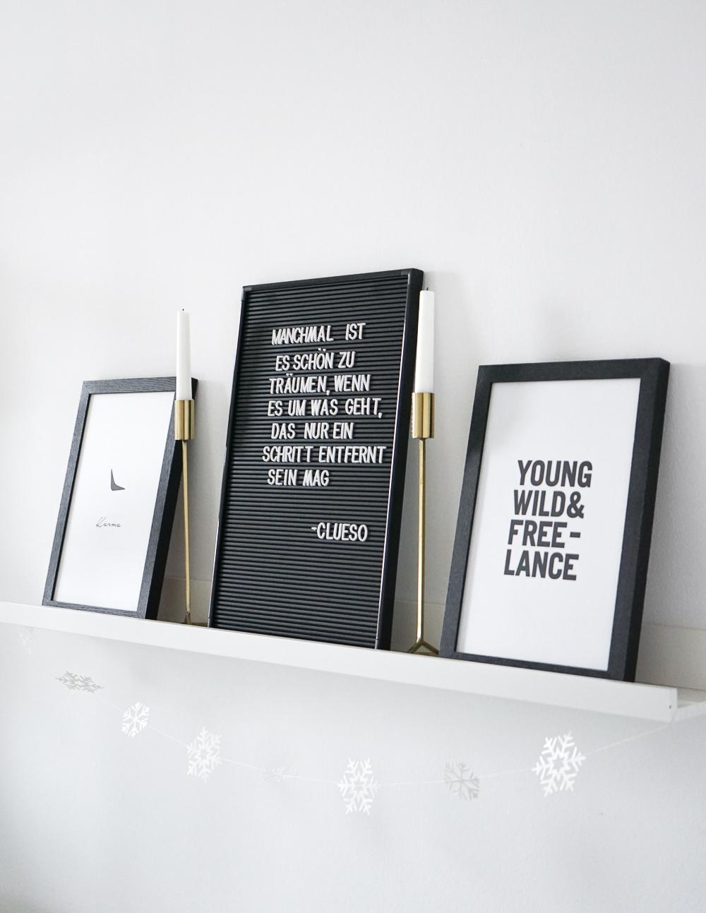 #letterboard Liebe und Motivation im Home Office #homeoffice #zitat #bilderleiste