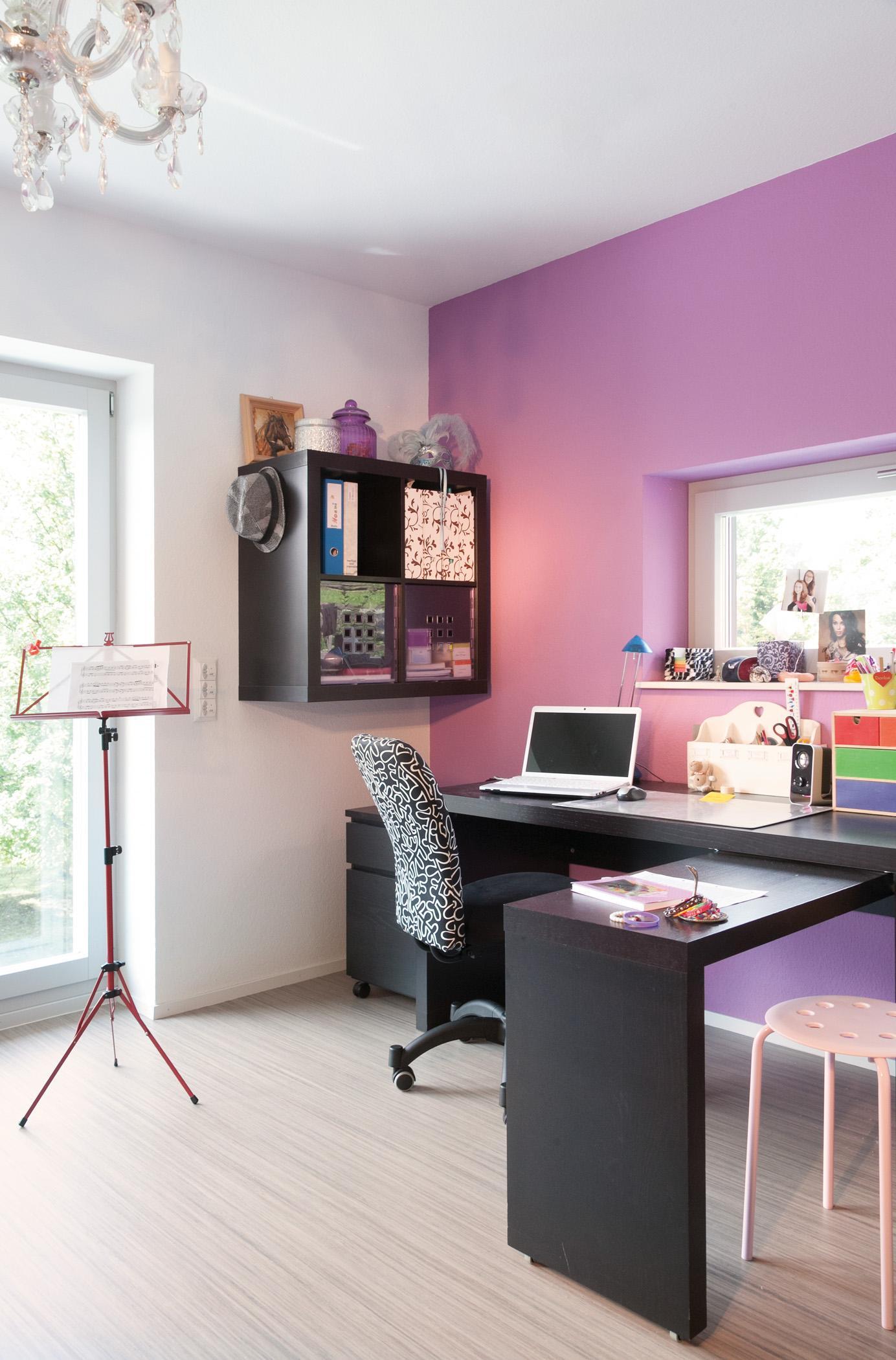 Lila Wandgestaltung • Bilder & Ideen • Couchstyle
