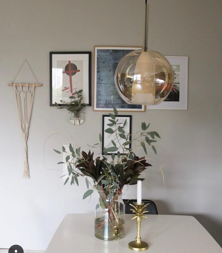 Living Interior Esszimmer Leuchte Blumen Home