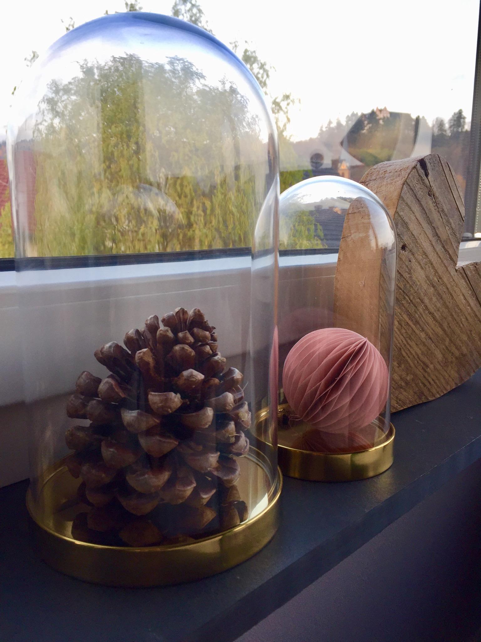 Awesome #livingABC #Fensterdeko #Zapfen Unter Der Haube #Herz
