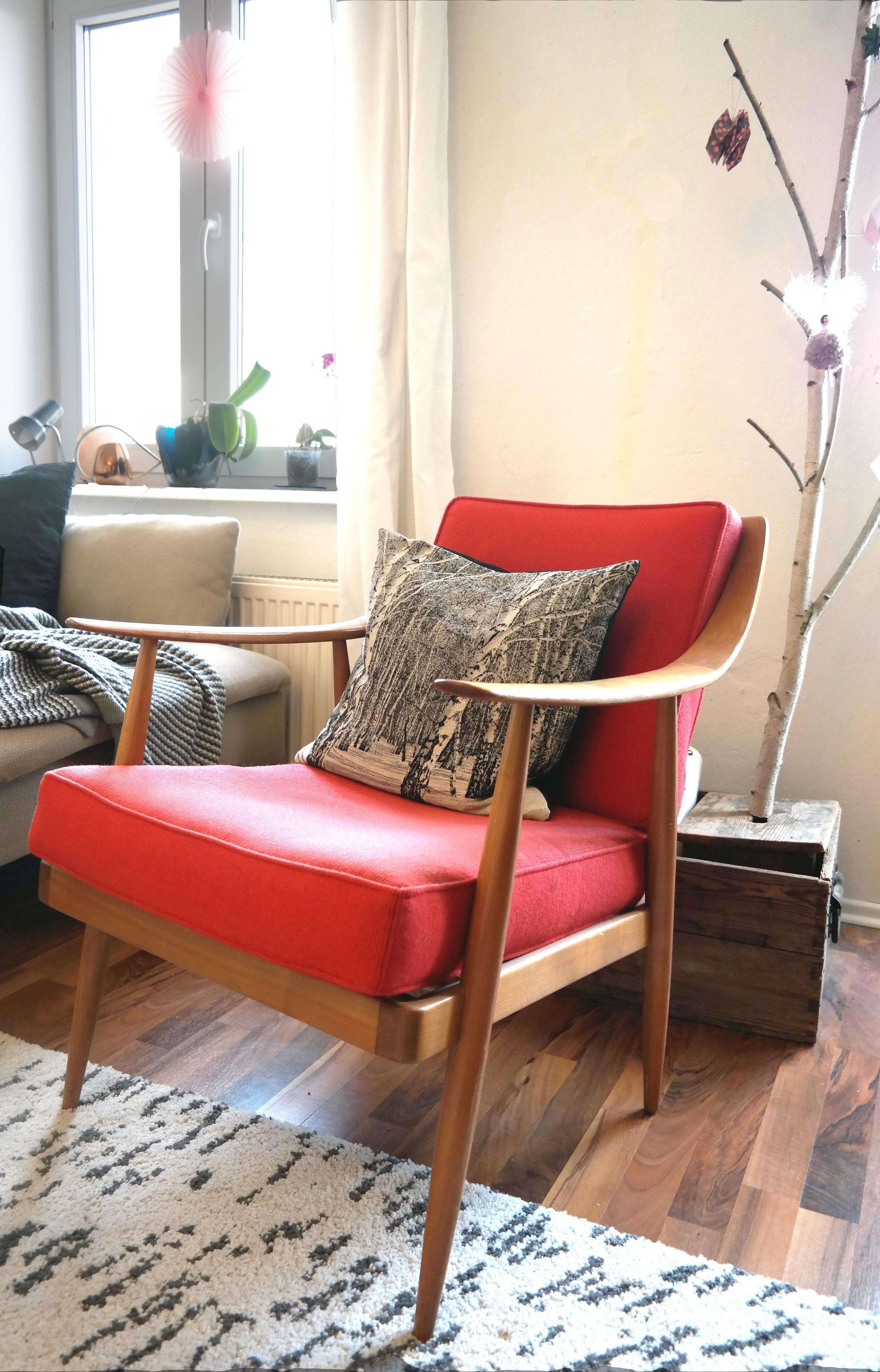 Livingabc sessel wohnzimmer skandinavisch vinta for Wohnzimmer sessel vintage