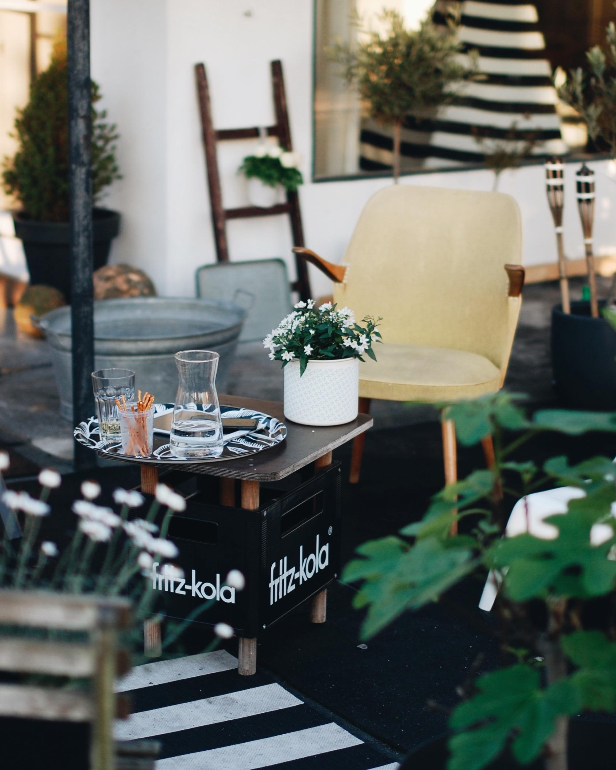 Livingchallenge Balkon Dachterrasse Interior Ou