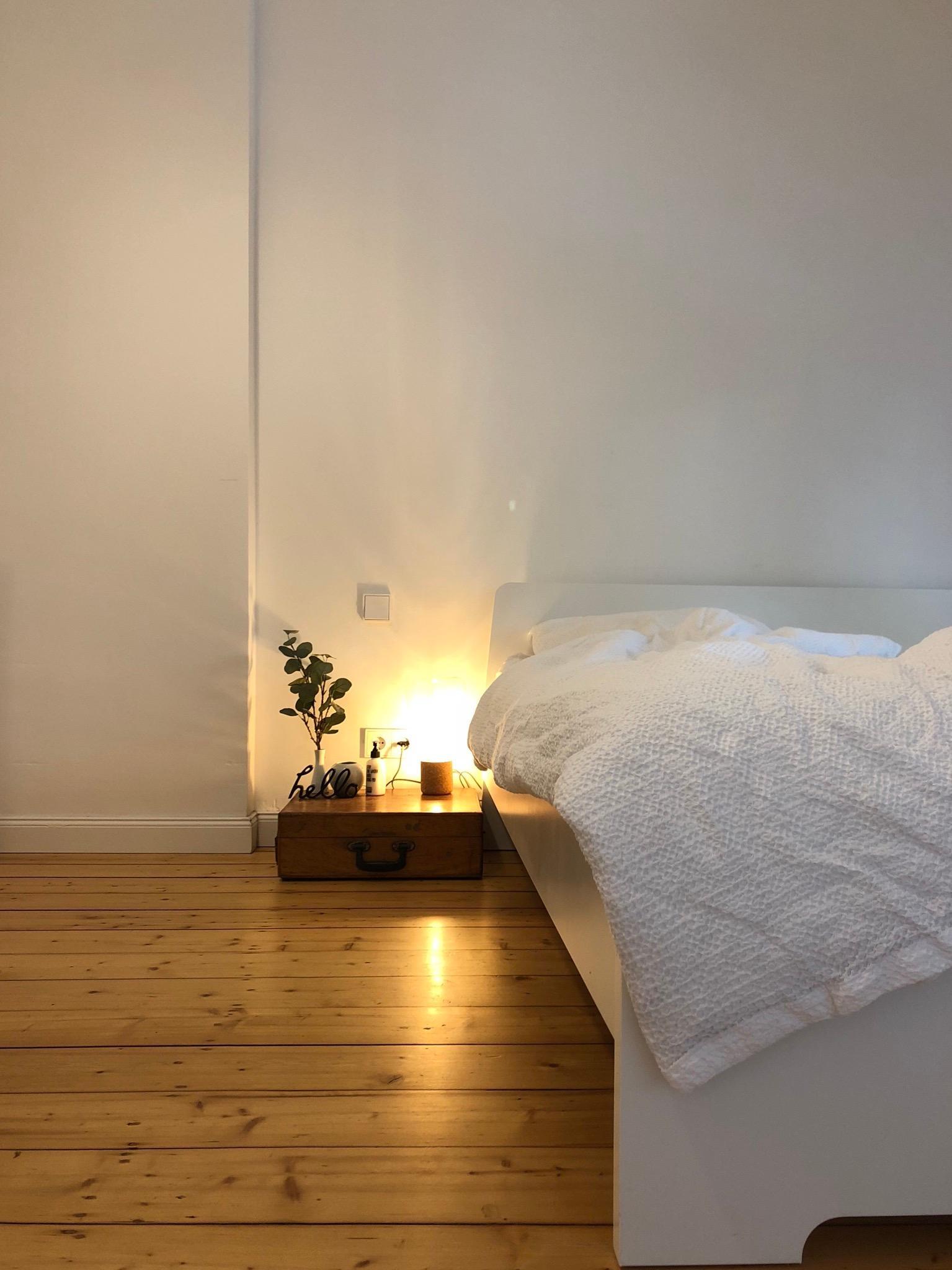livingchallenge schlafzimmer altbau minimalismus