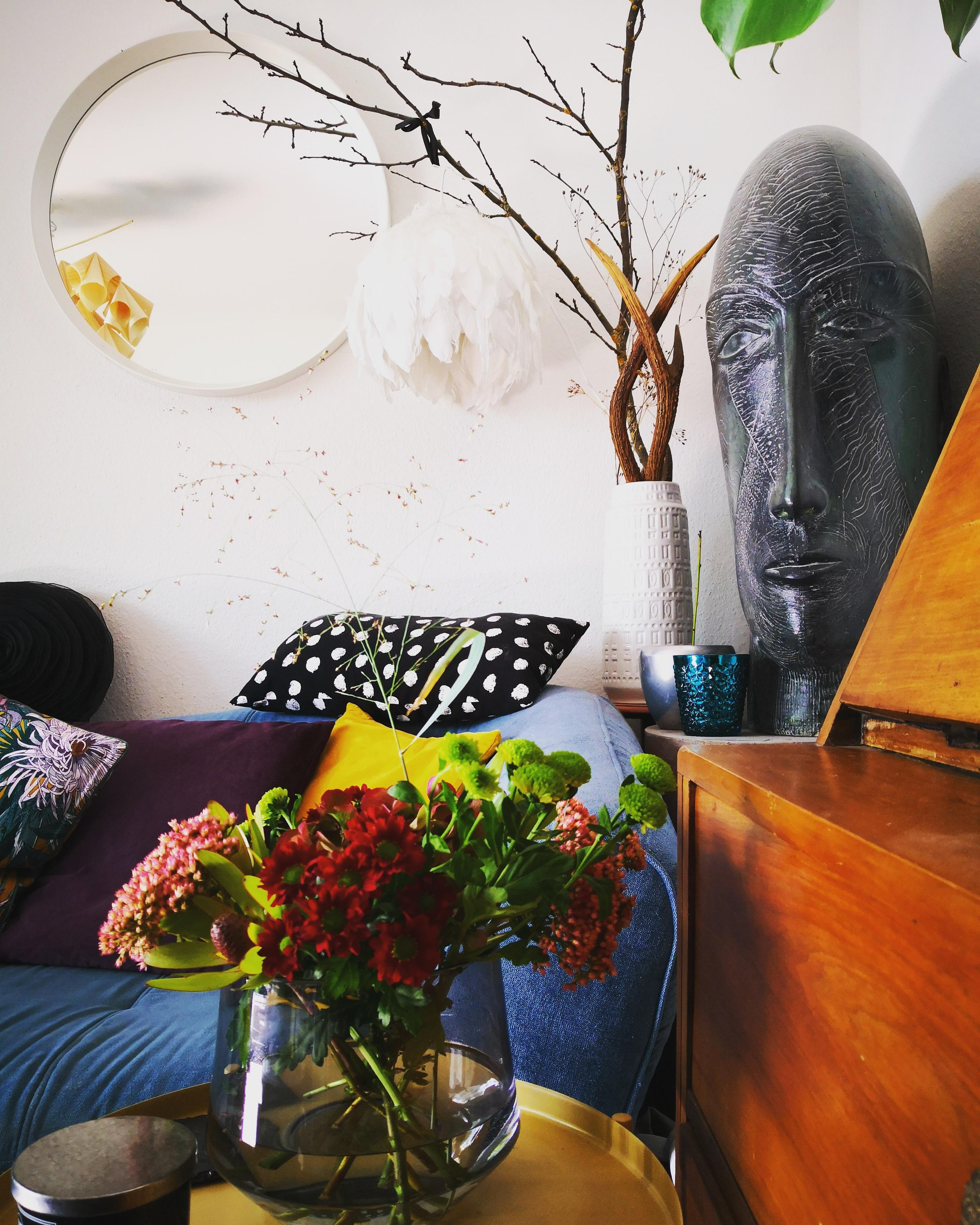 #livingroom #colourlove #flowers #art #home