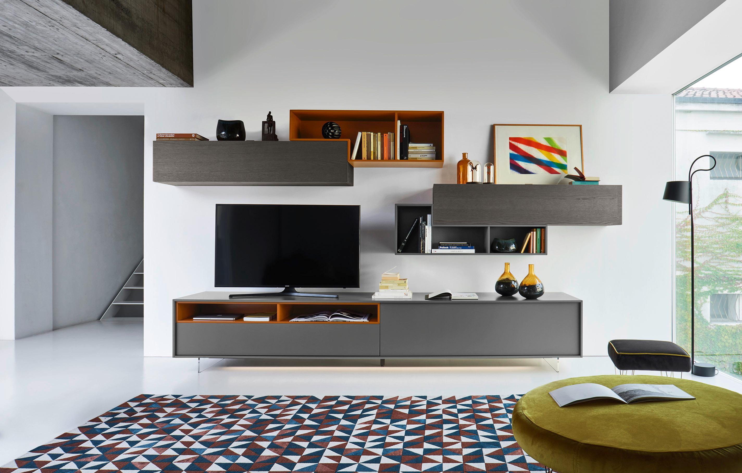 tv-möbel • bilder & ideen • couchstyle, Wohnzimmer