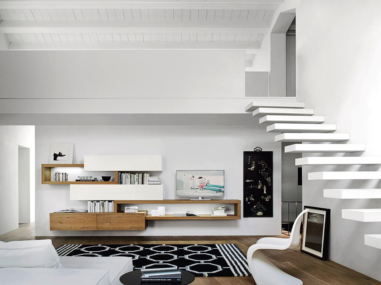 Tv m bel bilder ideen couchstyle for Wohnwand design