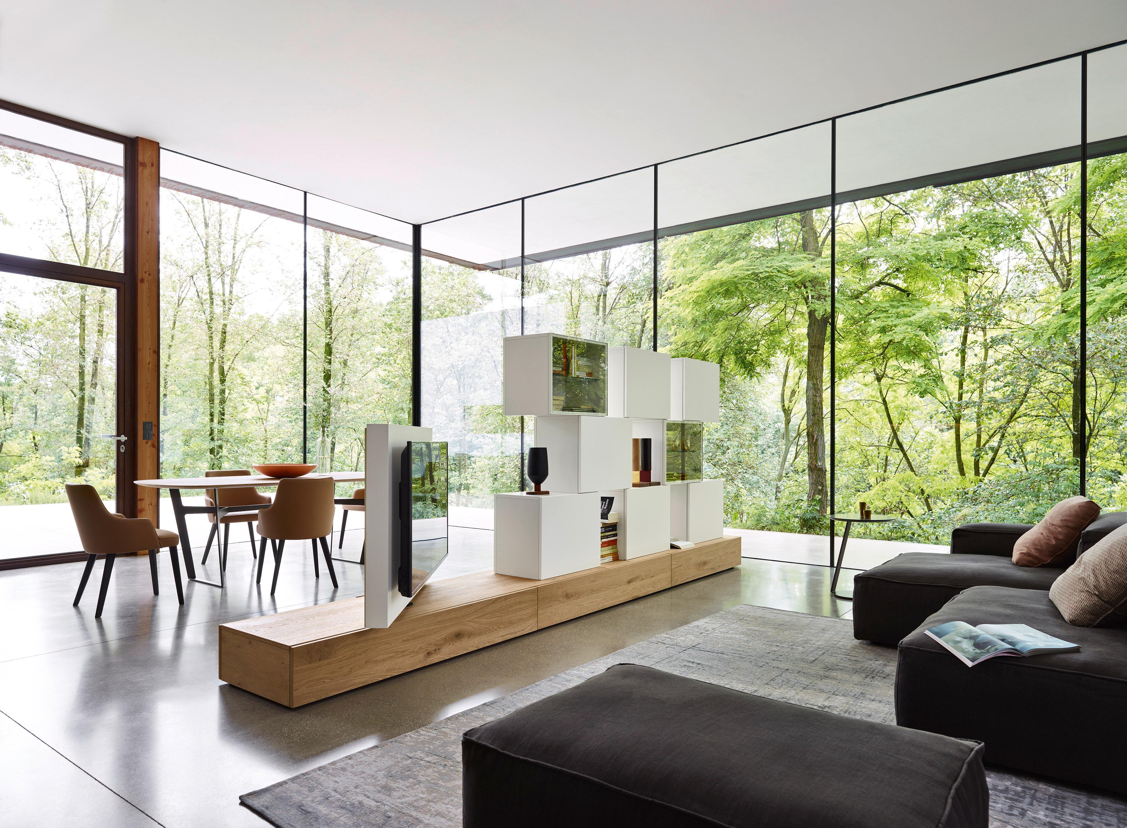 Livitalia Design Wohnwand C46 #Wohnzimmer #Tvmöbel #