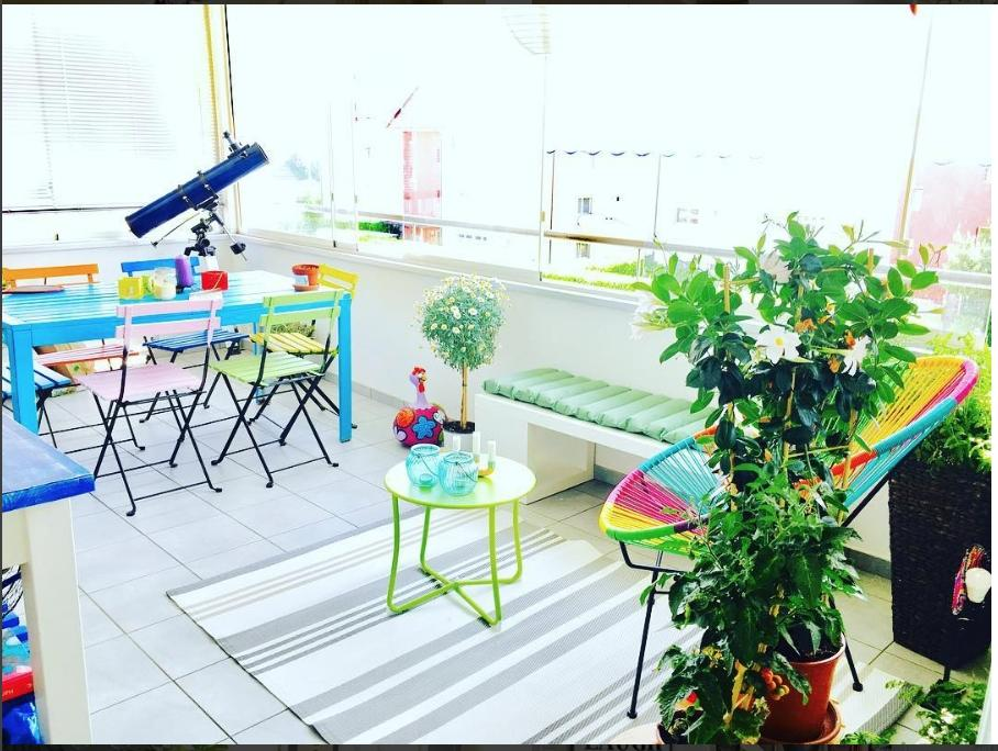 Looking forward for the start of the outdoor season #Veranda #Outdoor #Colours #Terrace # Plants