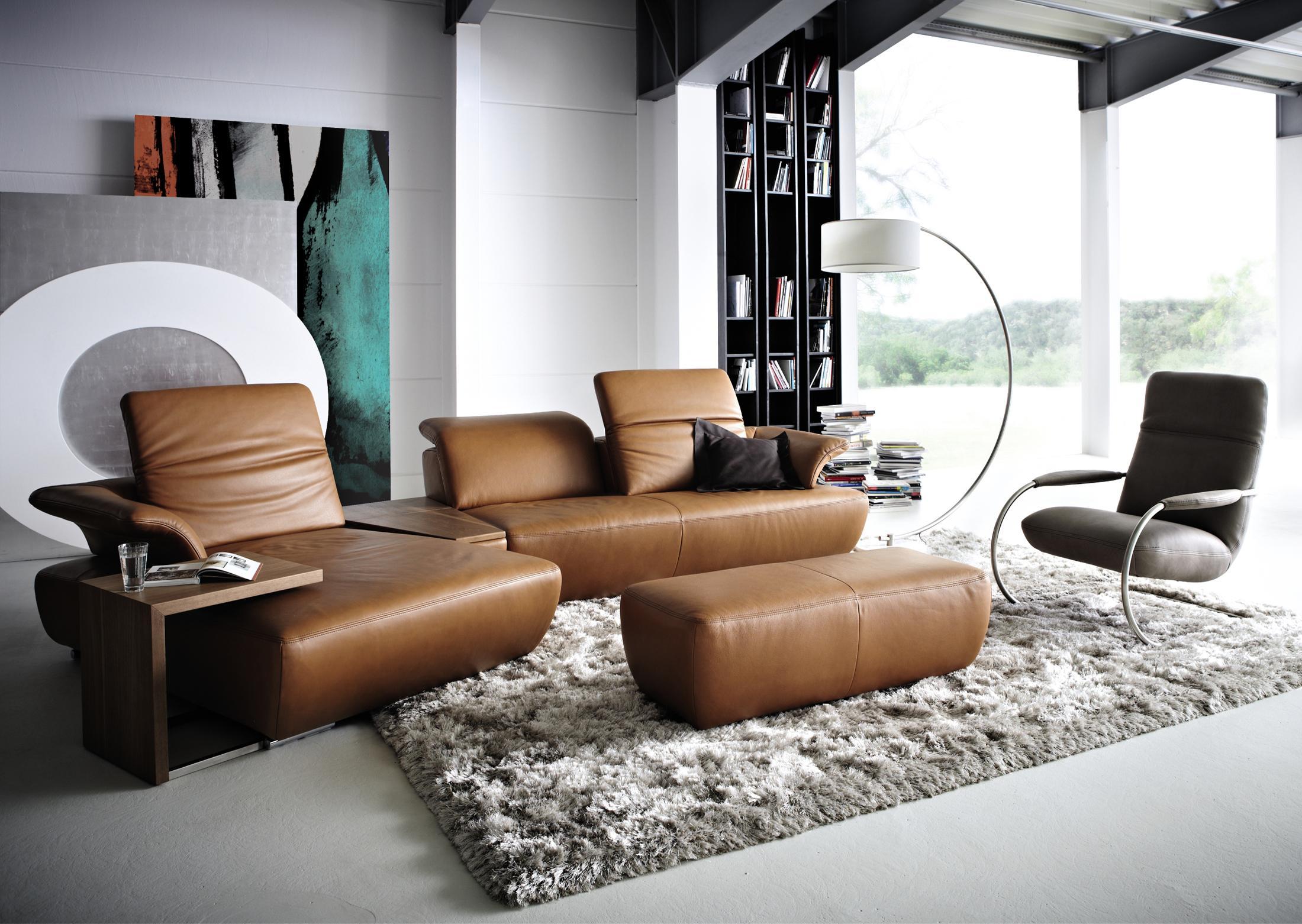 Wohnzimmer braunes sofa  Braunes Sofa • Bilder & Ideen • COUCHstyle