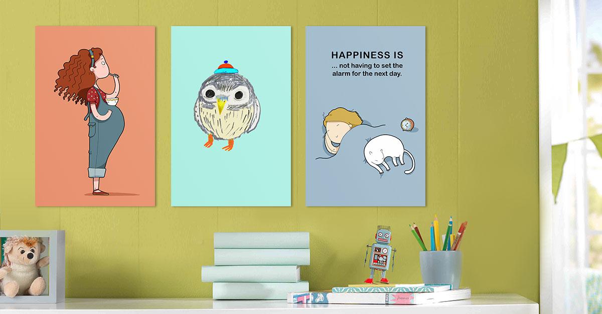 Lustige Kinder Motive Für Eine Moderne Wandgestaltun