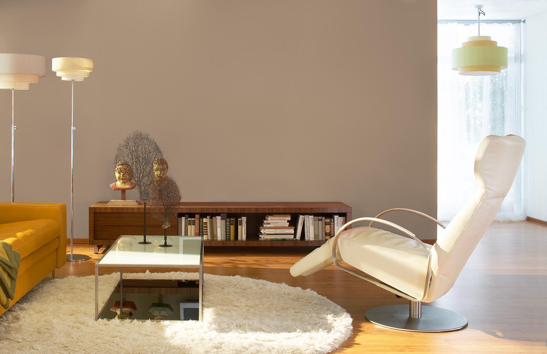 macchiato, schÖner wohnen-trendfarbe #wandfarbe #reg • couchstyle, Wohnzimmer